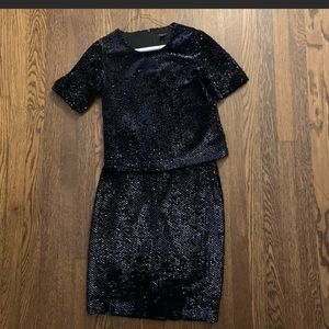 Ann Taylor Marching Sequin Set new with tags 🏷